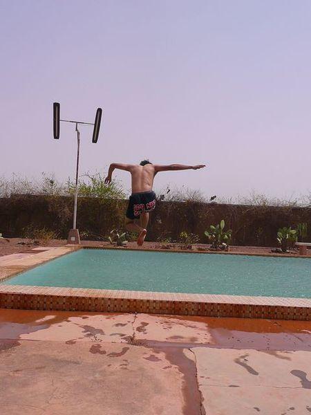 充滿力與美的跳水