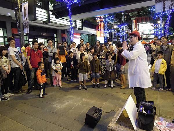 2011.11.27 信義區街頭表演