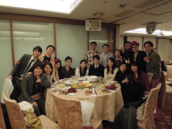 2012.1.15 家醫科忘年會 大成功!!