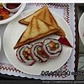 玫瑰點心:壽司和吐司