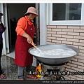 12 全部的生豆漿倒入大鍋煮沸