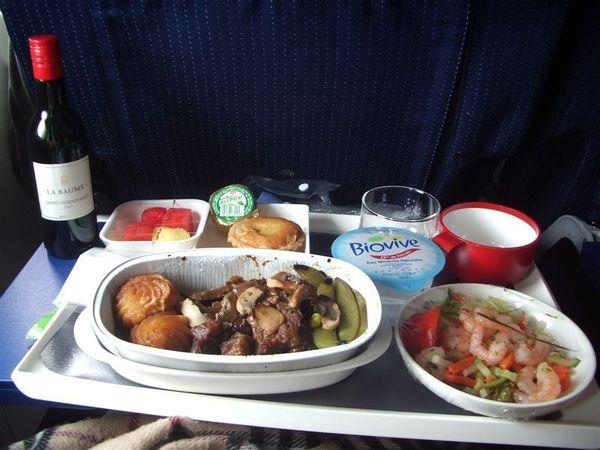 法航的飛機餐