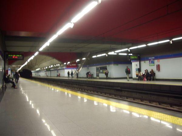 馬德里地鐵站