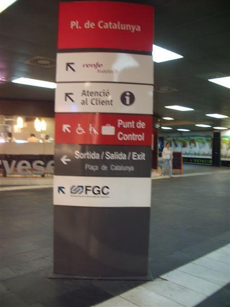 FCG指示牌