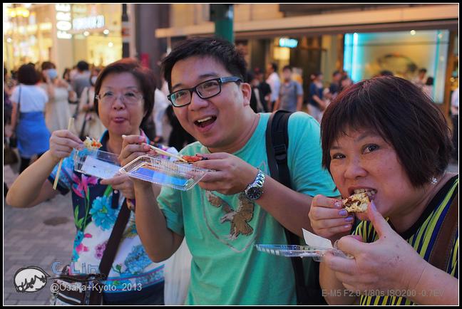 2013-京阪行-1-6 螃蟹道樂的厲害蟹腳!-011
