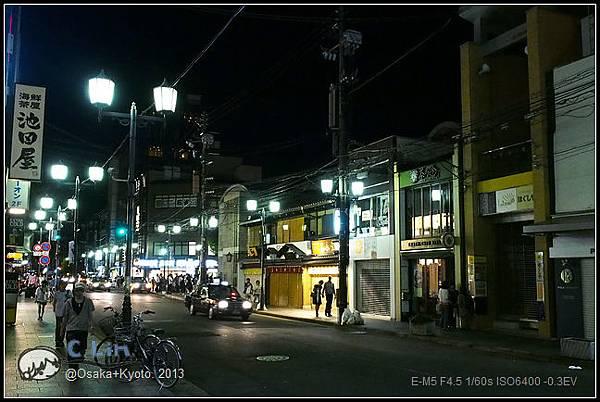 3-7 夜鴨川002