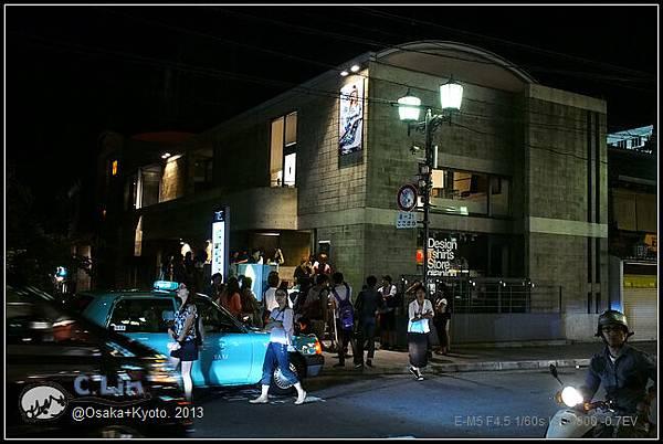 3-7 夜鴨川005