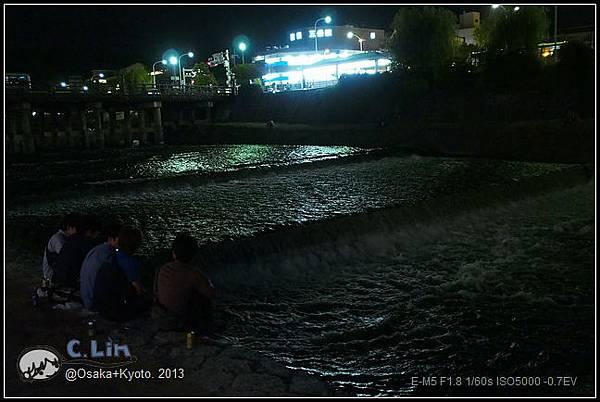 3-7 夜鴨川018