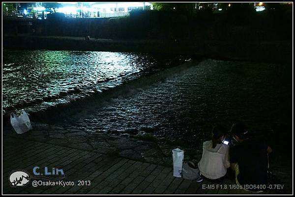 3-7 夜鴨川015