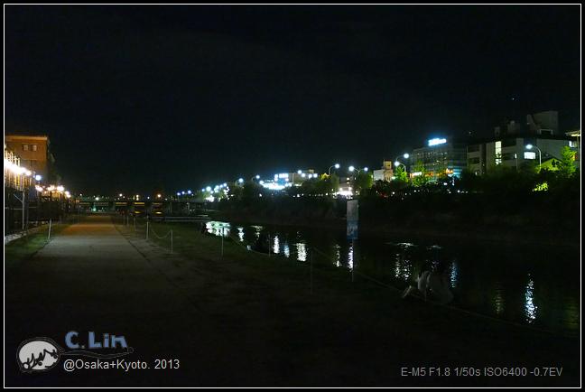 3-7 夜鴨川029