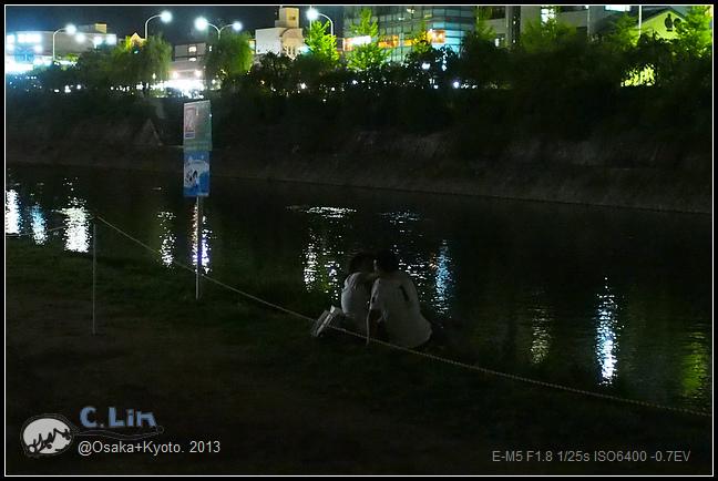 3-7 夜鴨川030