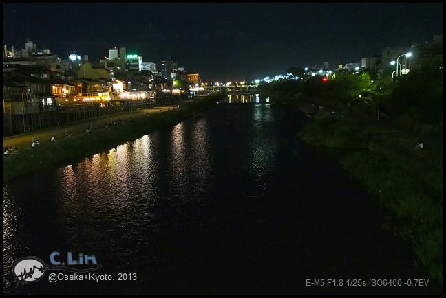 3-7 夜鴨川037