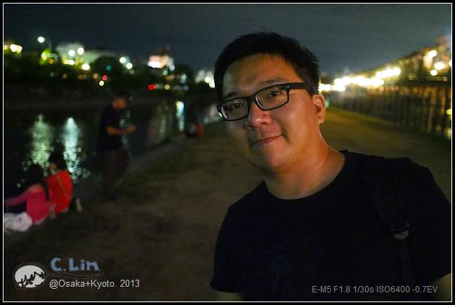 3-7 夜鴨川021