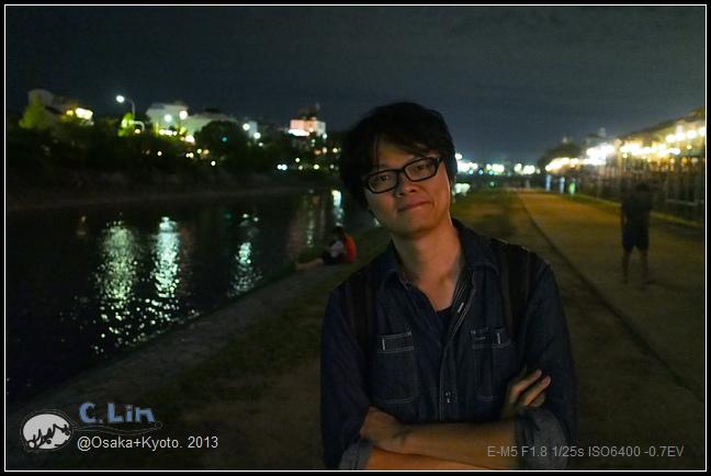 3-7 夜鴨川022
