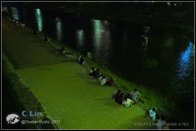 3-7 夜鴨川035