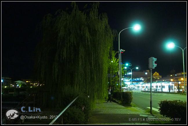 3-7 夜鴨川044