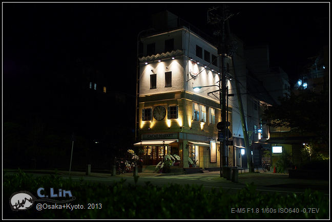 3-7 夜鴨川041