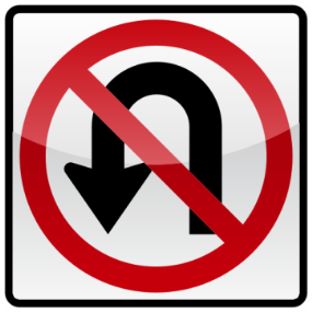 01_NO U TURN 禁止迴轉