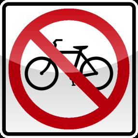 07_NO BICYCLES 禁止自行車
