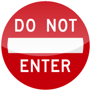 10_DO NOT ENTER 禁止進入