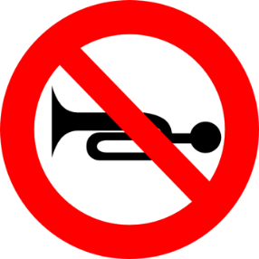 18_Prohibition of the use of audible warning devices 禁止鳴聲響報警裝置
