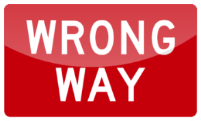 16_WRONG WAY 錯路