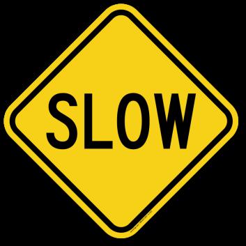 36_SLOW 減速慢行