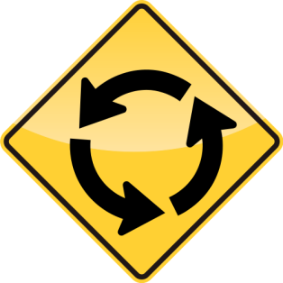 31_CIRCULAR INTERSECTION AHEAD 前方環形交叉口