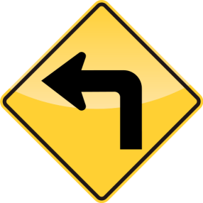 39_LEFT TURN AHEAD 前方左轉