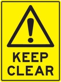 58_keep clear 保持淨空