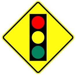 61_SIGNAL AHEAD 前方號誌燈