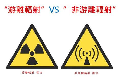 游離輻射與非游離輻射的不同