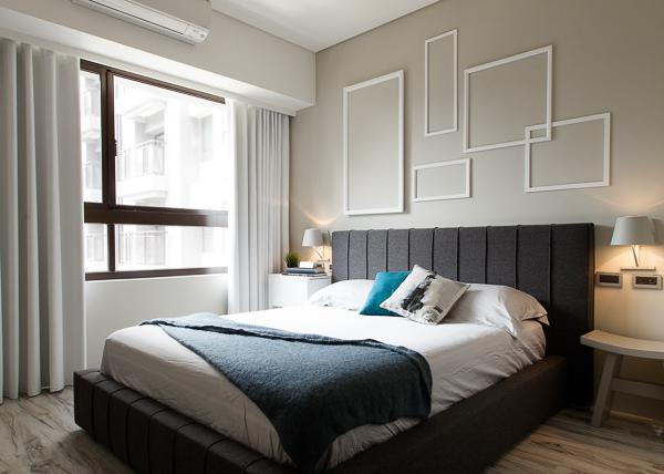 輕工業風 Industrial Style 磚牆 原生工業風  不鏽鋼檯面 廚房設計 吧台設計 淡水室內設計 不規則畫框