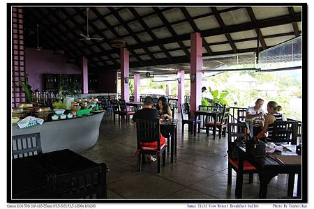 Samui Cliff View Resort Breakfast buffet