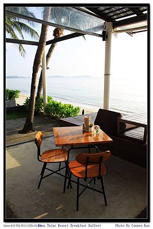Baan Talay Resort Breakfast Buffert