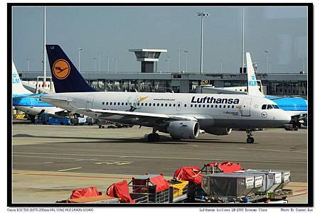 Lufthansa Airlines LH-2303 Economy Class