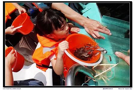 基隆嶼魚苗放流