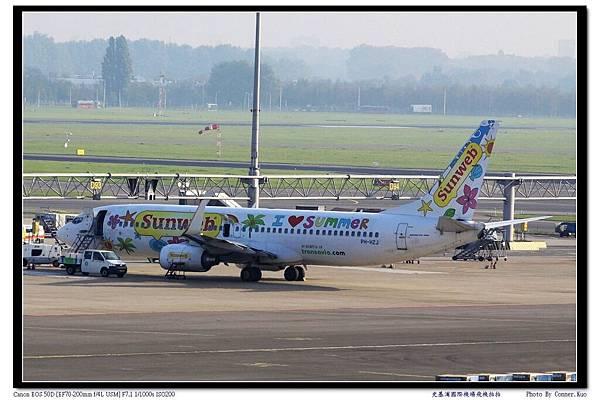 史基浦國際機場飛機拍拍