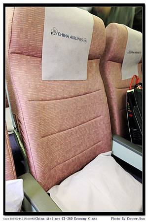 China Airlines CI-260 Economy Class