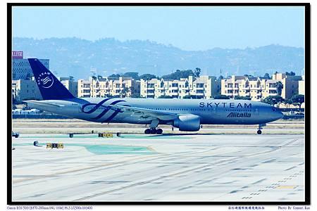 洛杉磯國際機場飛機拍拍
