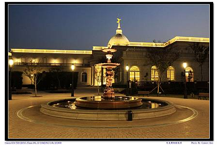 奇美博物館夜景