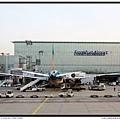 法蘭克福機場飛機拍拍