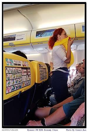 Ryanair FR-9204 Economy Class