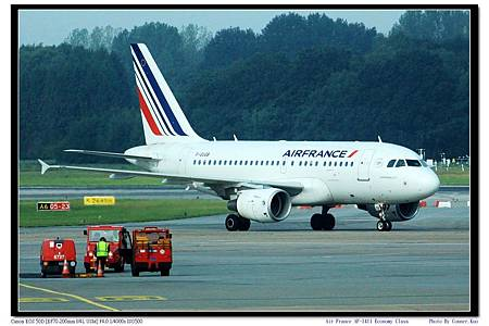 Air France AF-1411 Economy Class