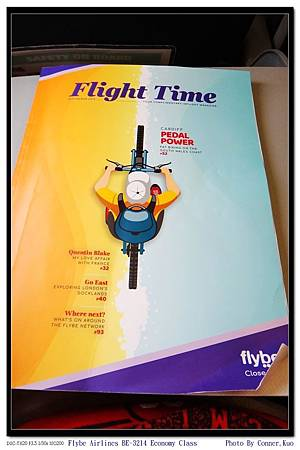 Flybe Airlines BE-3214 Economy Class