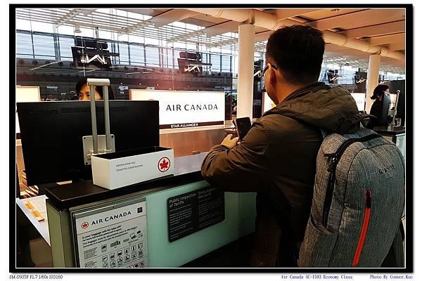 Air Canada AC-1593 Economy Class