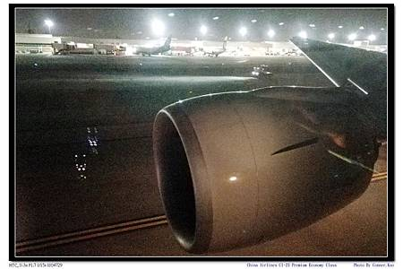 China Airlines CI-23 Premium Economy Class