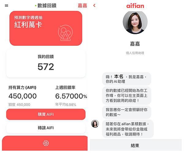 AIFI-aifian-諦諾-投資-AI-人工智慧-算力-收益-回饋-拍發票-借貸-借款-Bacon-Shot-紅利萬-樂透