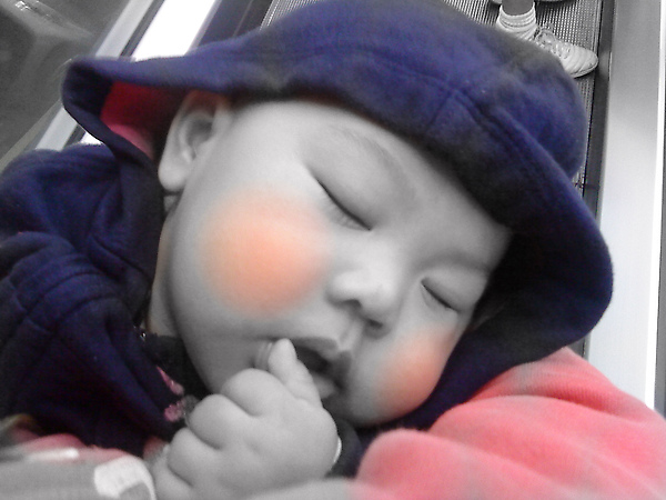 fell asleep while shopping