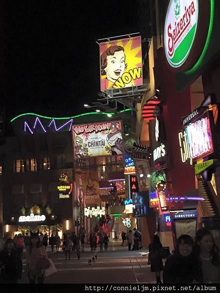 環球影城外面的街道.jpg